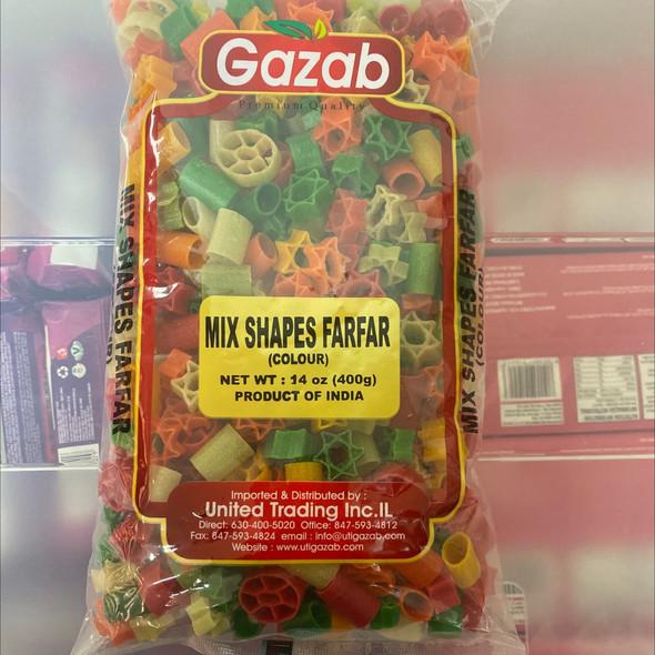 Gazab Color Fryums Mix Shapes 400g