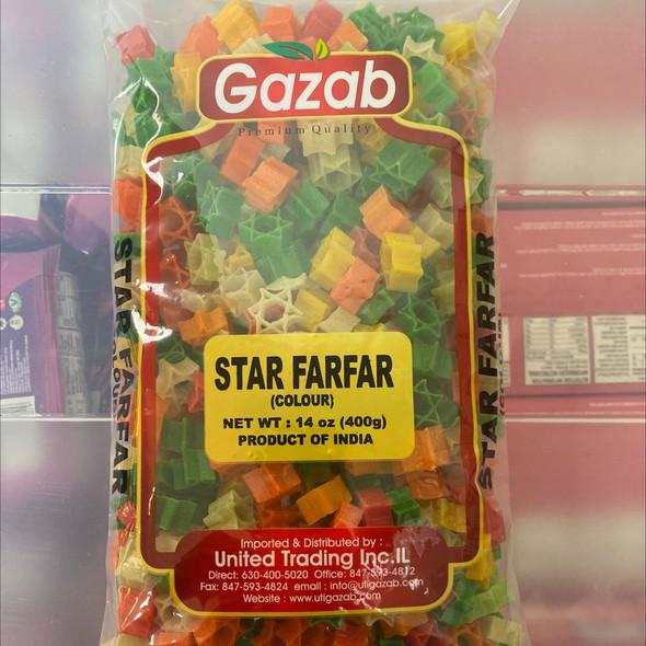 Gazab Color Fryums Star 400g