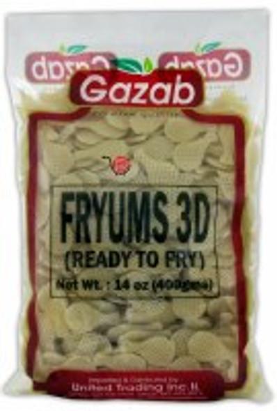 Gazab Plain 3D Farfar 400g