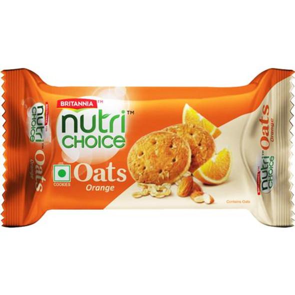 Britannia Nutri Choice Oats Orange 65g