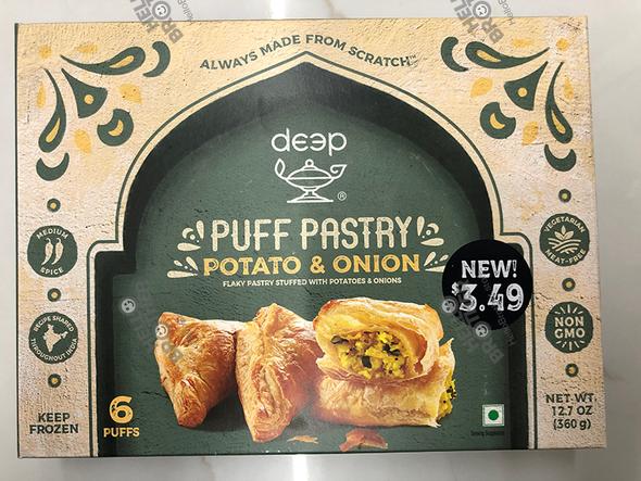 Deep Frz Puffs - Potato & Onion 6pc
