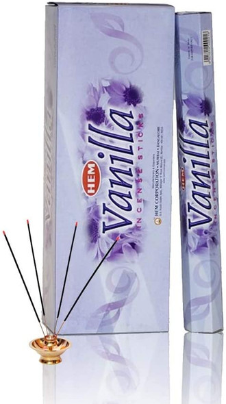 Agarbathi HEM - Vanilla (6 Pack)