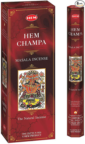 Agarbathi HEM - Champa (6 pack)