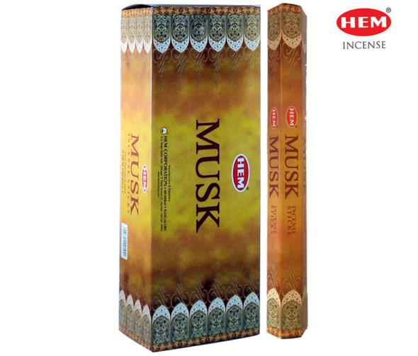 Agarbathi HEM - Musk (20 Sticks)
