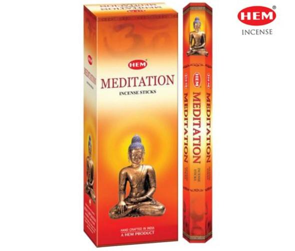 Agarbathi HEM - Meditation (6 Pack)