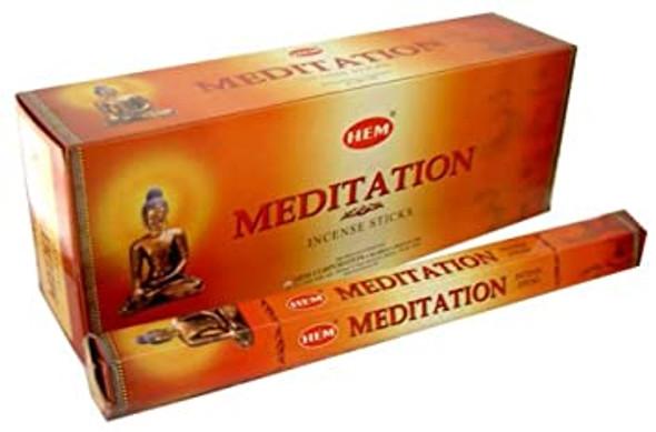 Agarbathi HEM - Meditation (20 Sticks)