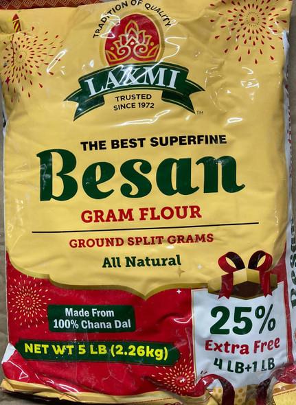 Laxmi Besan 5lb Festive Pack