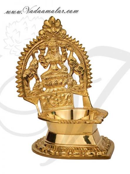 Brass Lakshmi Diya Small