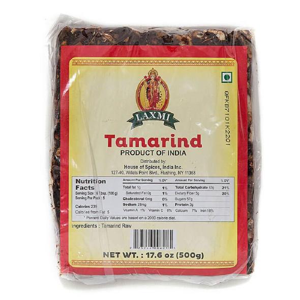 Tamarind Slab 500g - Laxmi