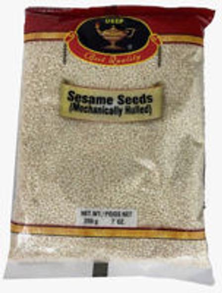 Sesame Seeds White 14oz - Deep