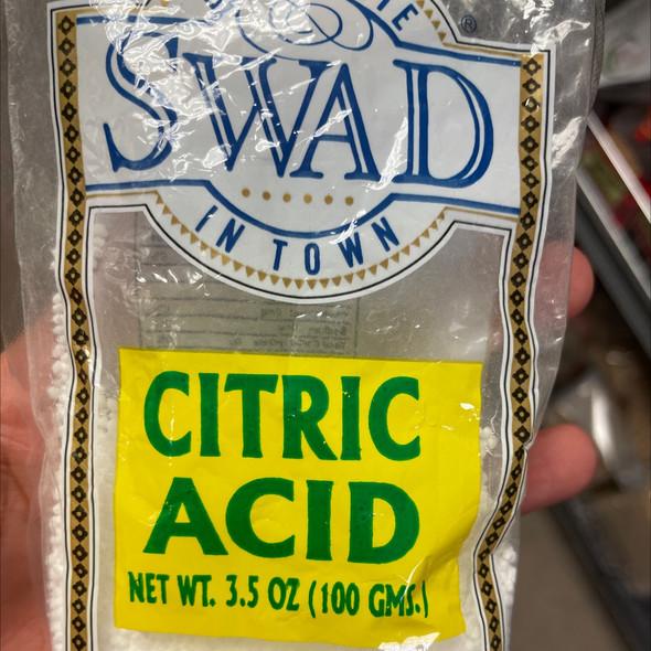 Citric Acid 3.5oz - Swad