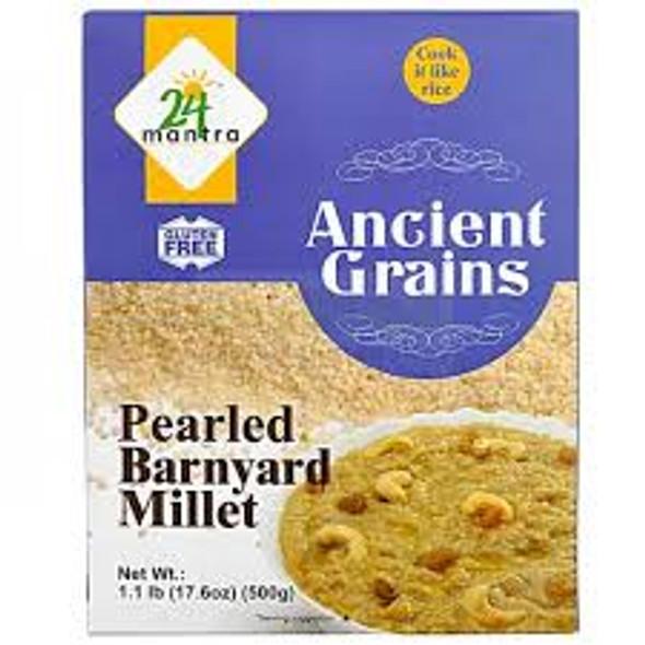 24 Mantra Barnyard Millet 500g