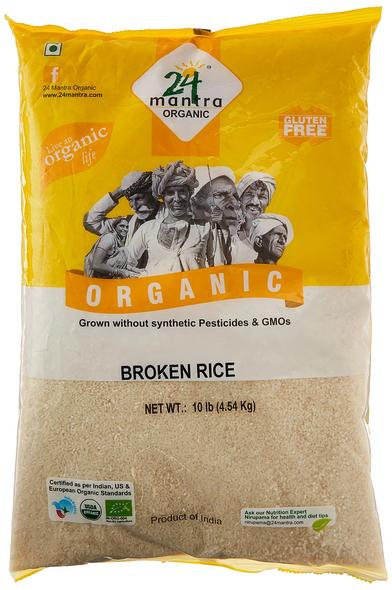 24 Mantra Broken Rice 10lb