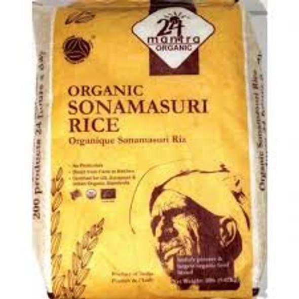 24 Mantra Sona Masuri Rice 20lb