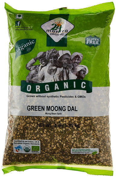 24 Mantra Moong Green Split 2lb