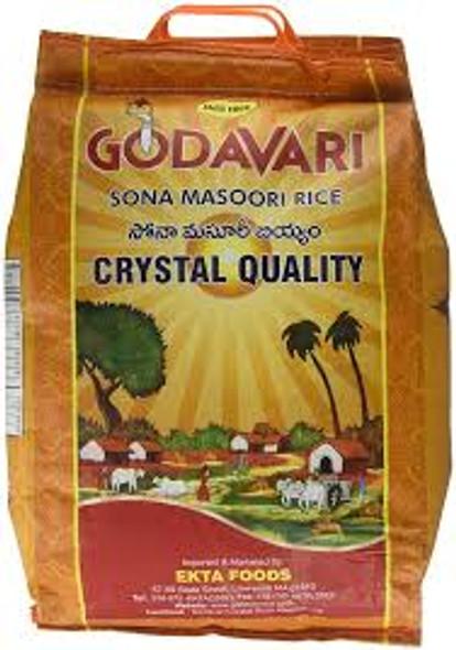 Godavari Sona Masoori Rice 20lb
