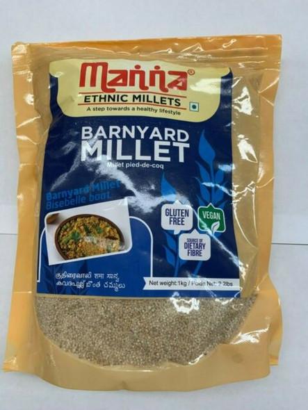 Manna Barnyard Millet 1kg