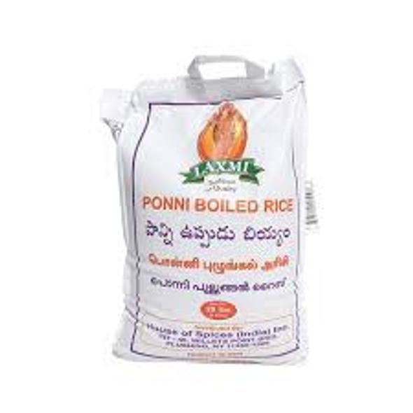Laxmi Ponni Boiled Rice 20lb