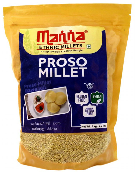 Manna Proso Millet 1kg - (Duplicate Imported from BigCommerce)