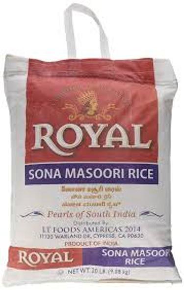 Royal Sona Masoori 20 lbs