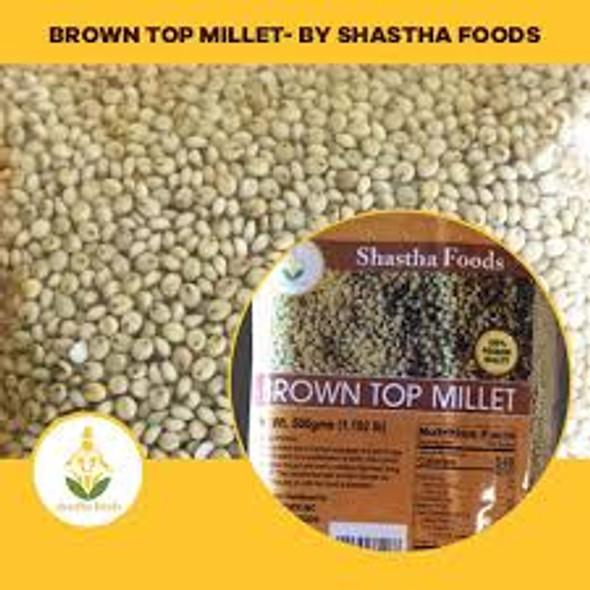 Shastha Brown Top Millet 500g