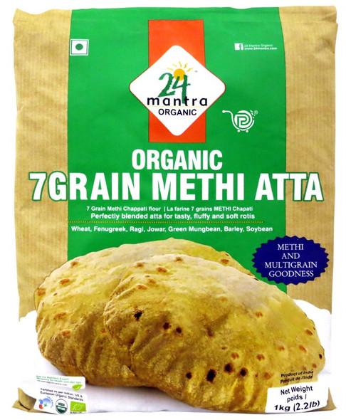 24 Mantra 7 Gr Methi Atta 2lb