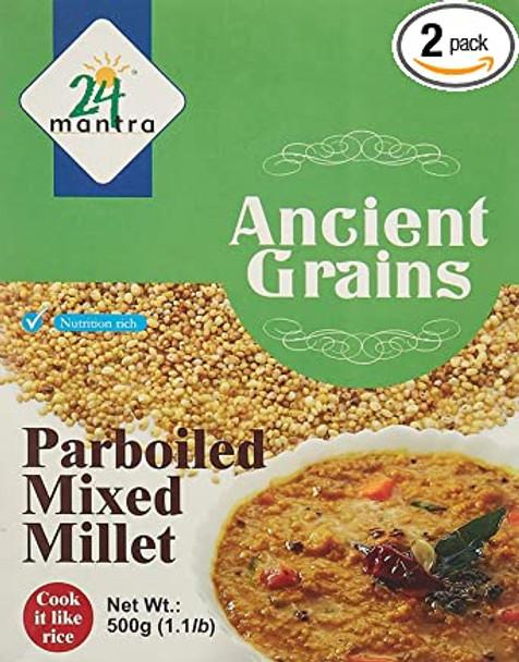 24 Mantra Parboiled Millet 500g