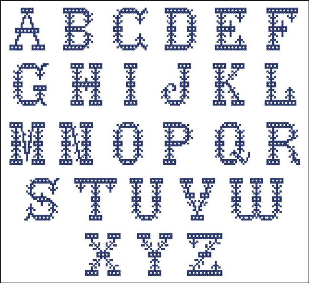 Vintage Alphabet 1082