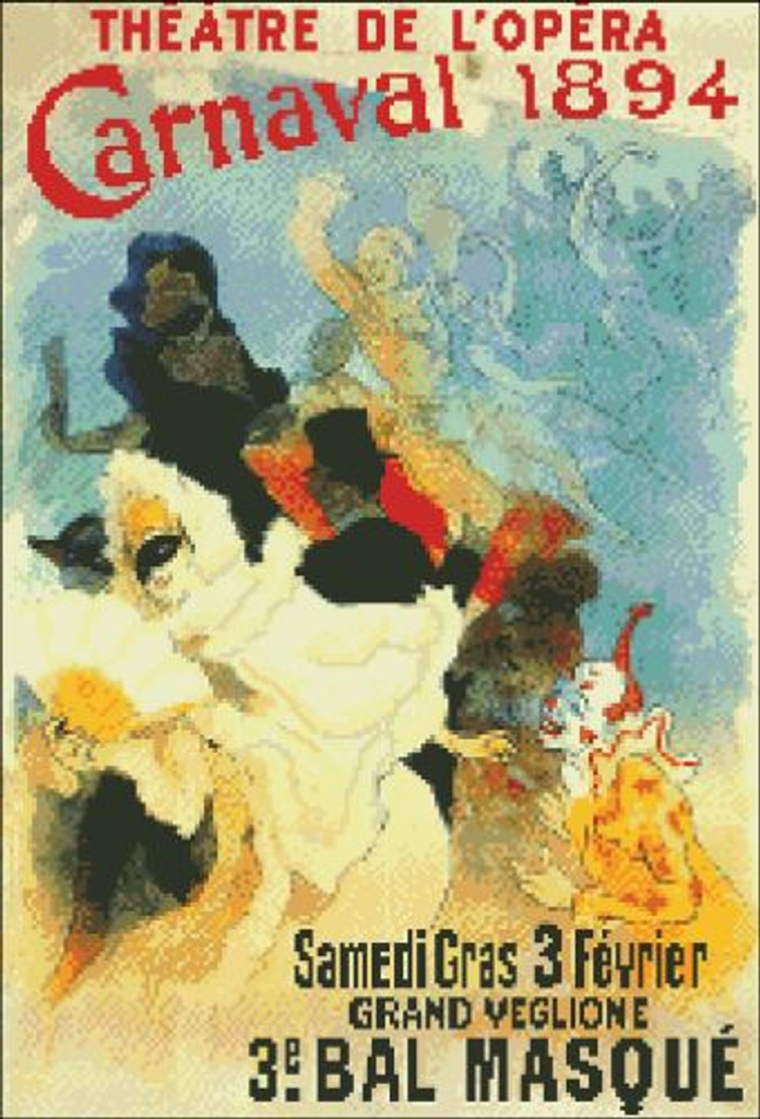 Carnival 1894 French Poster