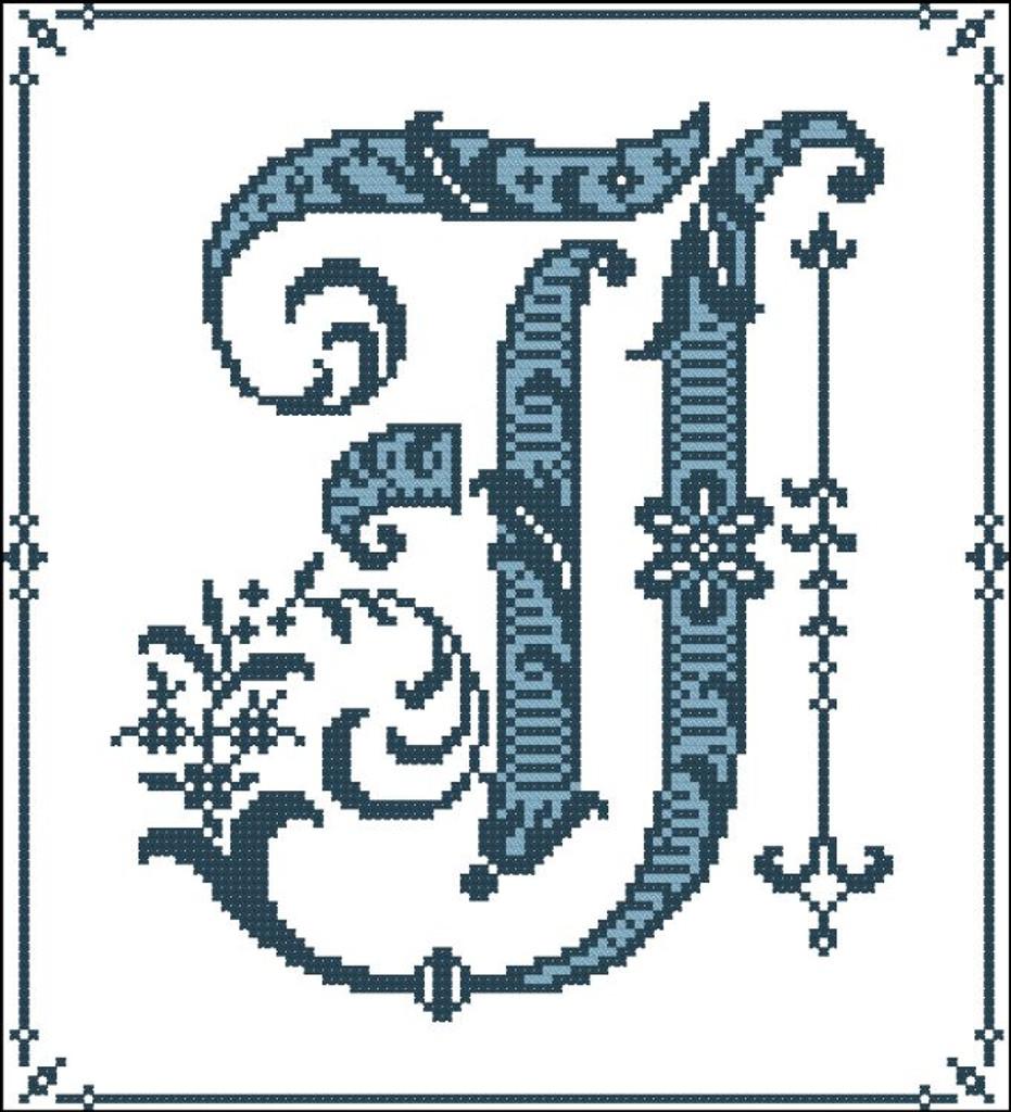 Gothic Alphabet J