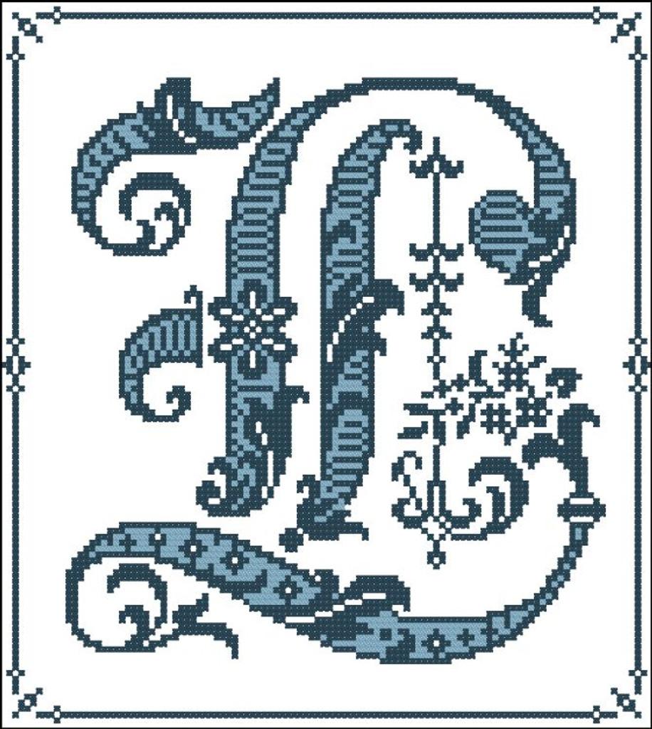 Gothic Alphabet L