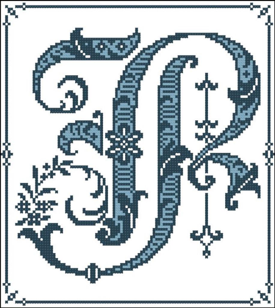 Gothic Alphabet P