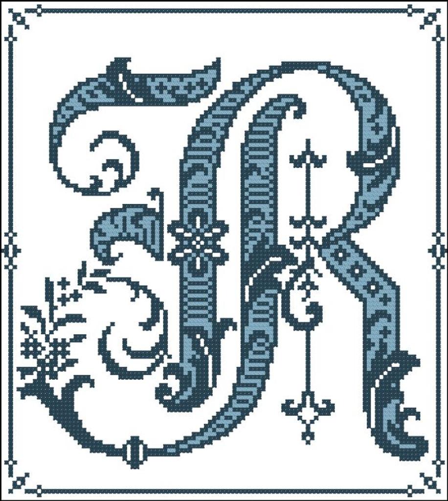 Gothic Alphabet R