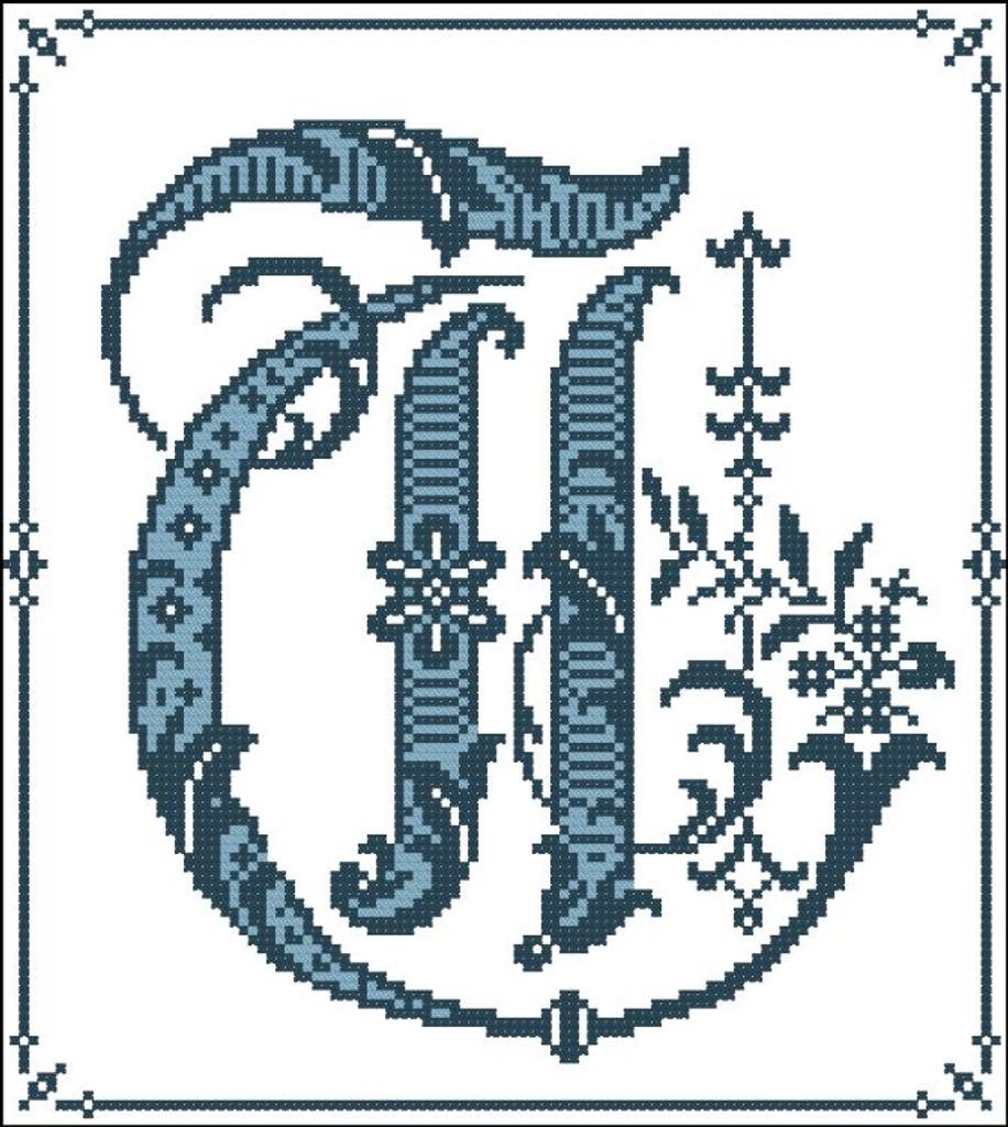 Gothic Alphabet T