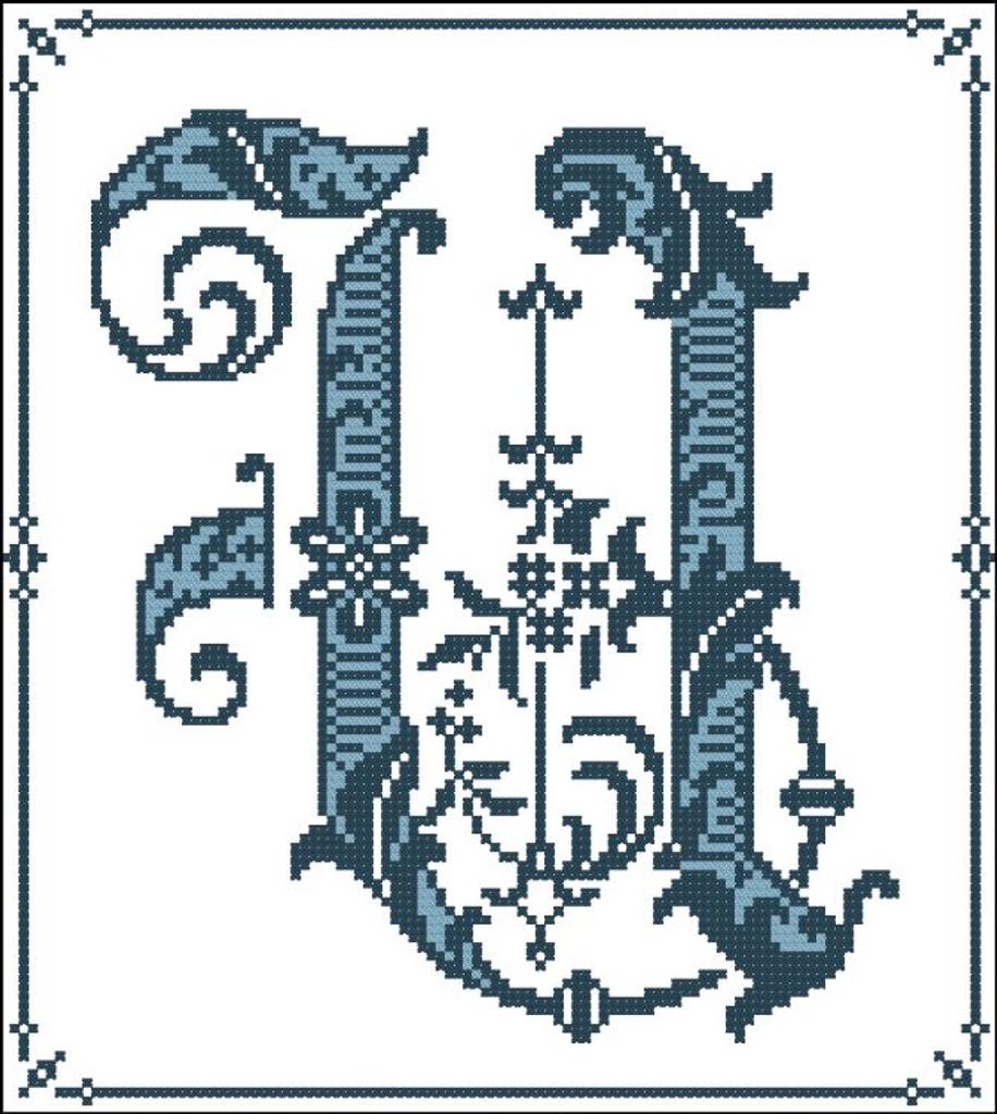 Gothic Alphabet U