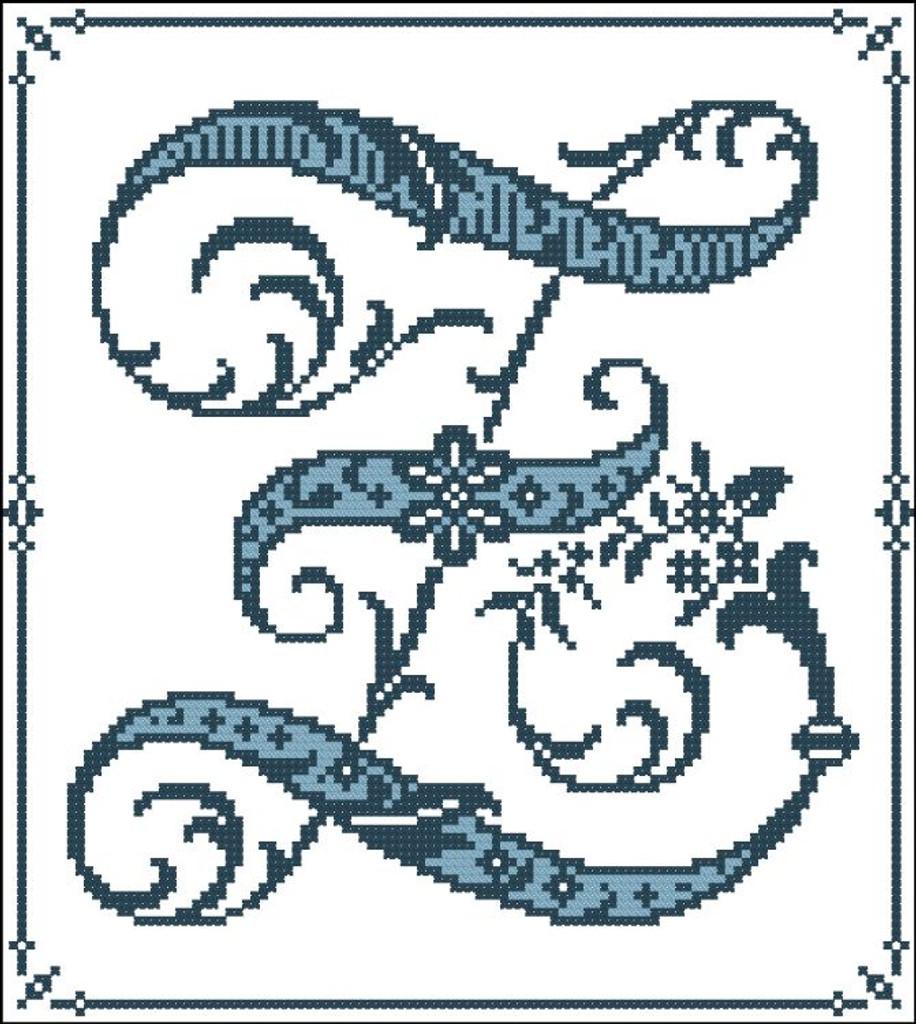 Gothic Alphabet Z