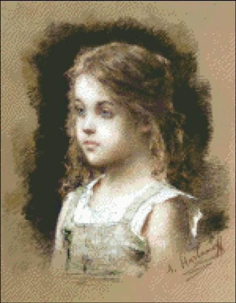 Young Girl in Green Tunic