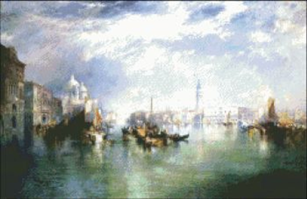 Entrance to Grand Canal Venice