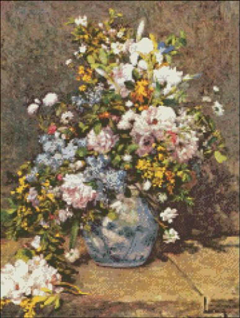 Flowers on a Vase
