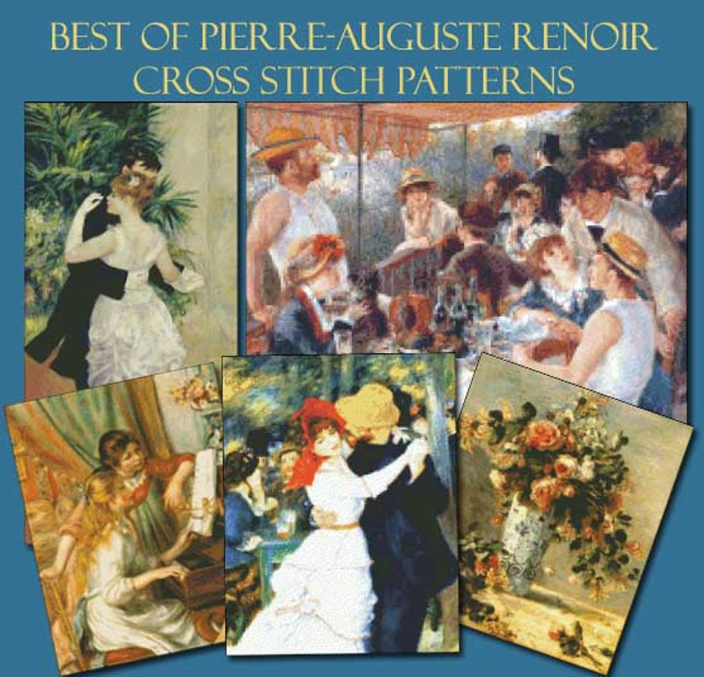 Renoir Cross Stitch Pattern Collection