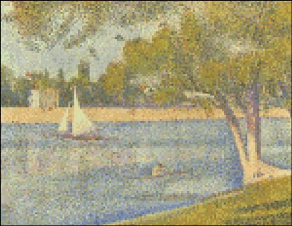 Seine at the Grand Jatte