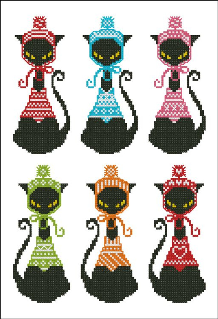 Black Cat Knits Bookmark