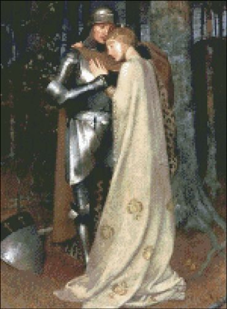 Aucassin and Nicolette (Knight and Lady)