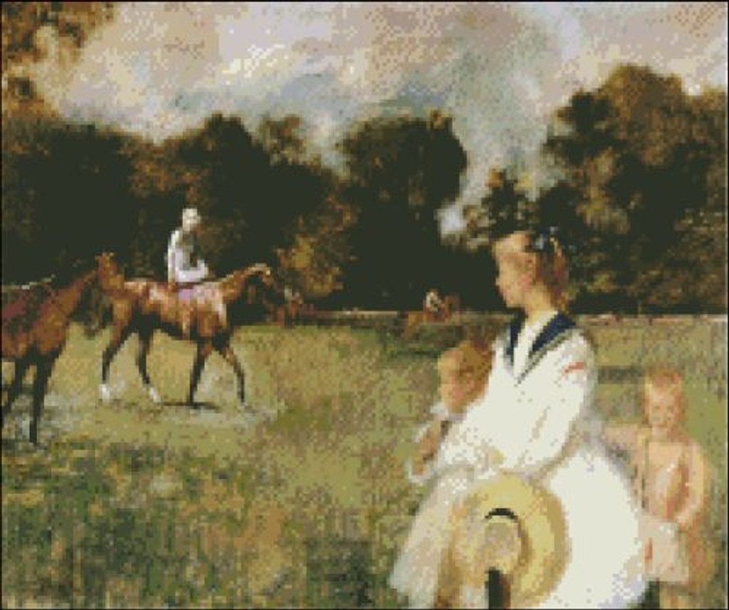 Schooling the Horses