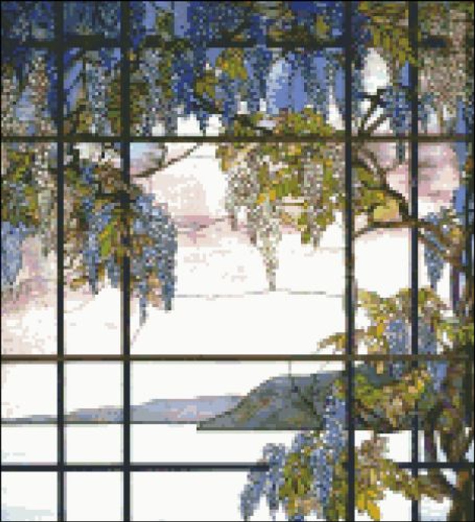 View of Oyster Bay Stained Glass