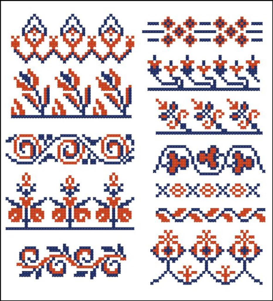 Border Motifs 002 (Floral)