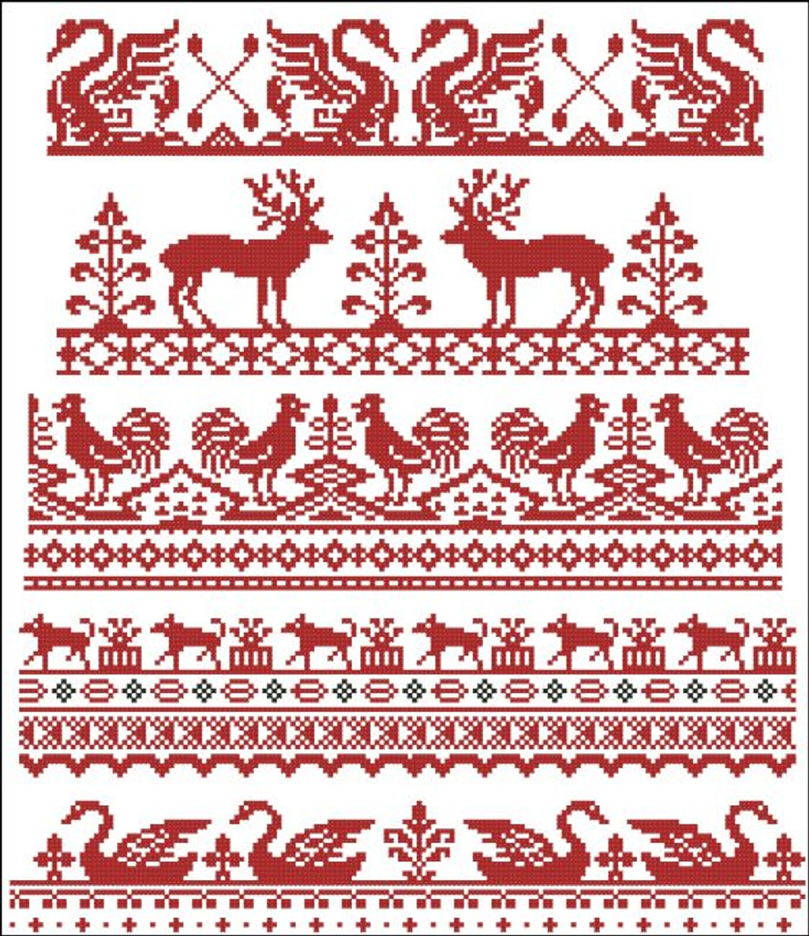 Animal Borders Sampler