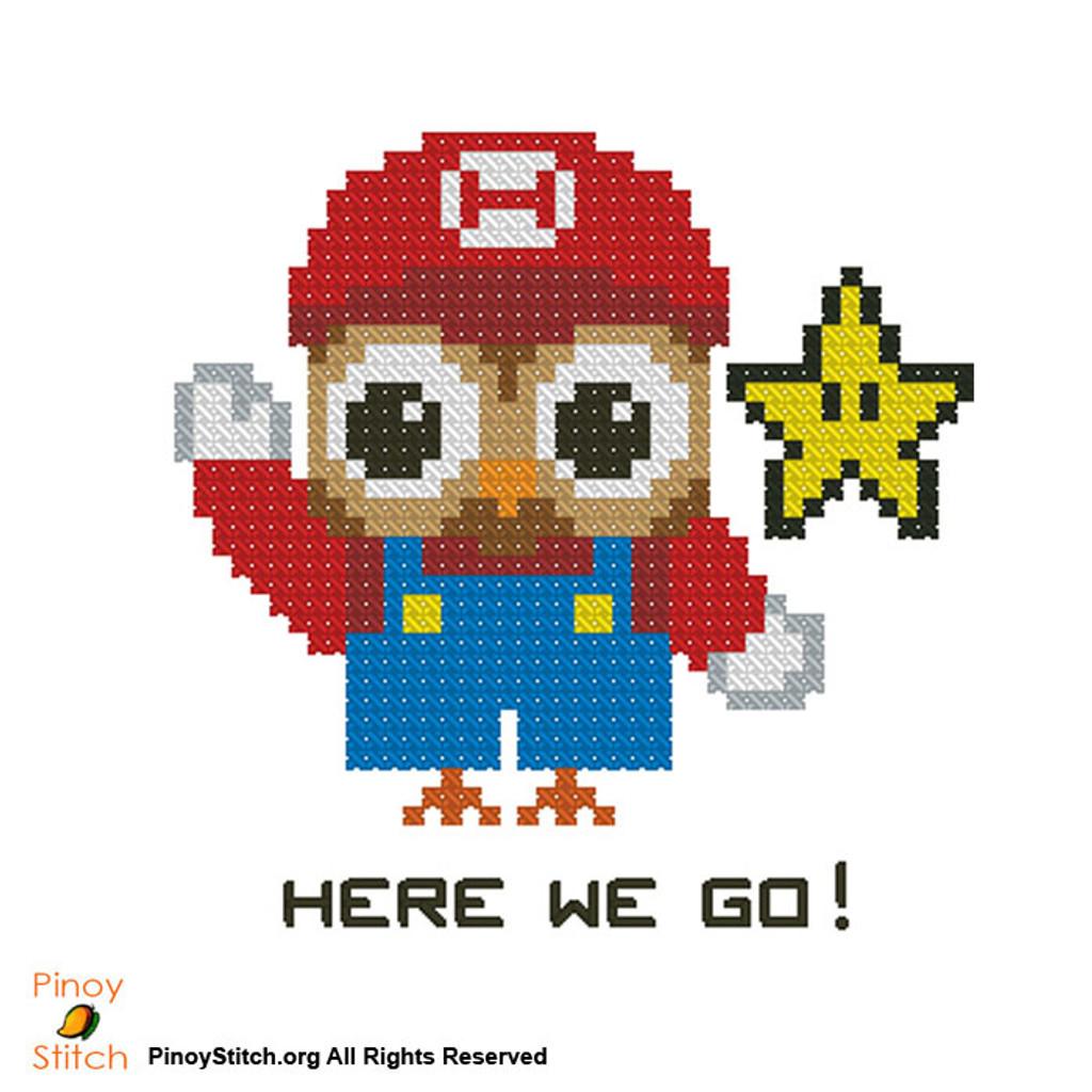 Hootie Super Mario