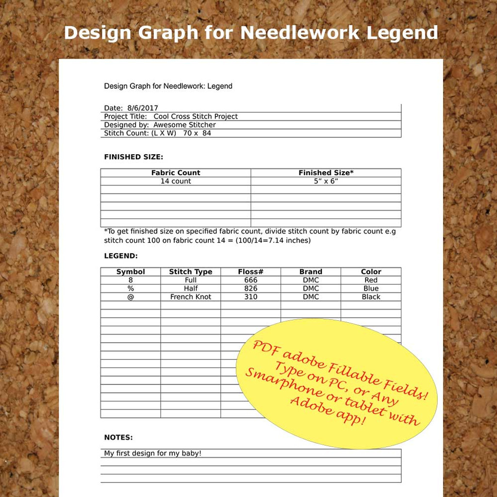 Editable DMC Checklist Grid Design Gentle Art Checklist Weeks Dye Checklist Expandable Form PDF Instant Download All Forms Mega Combo