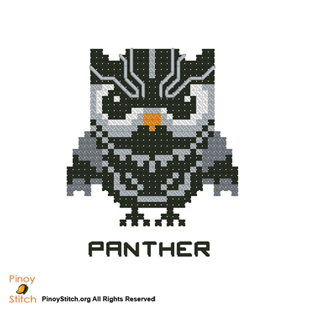 Hootie Super Hero Black Panther